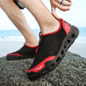 Mens-Water-Shoes-Barefoot-Aqua-Socks-Quick-Dry-Beach-Swim-Pool-Sports-Exercise