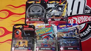 Hot-Wheels-Retro-Entertainment-Marvel-Choise-Choix-lot-ou-a-l-039-unite-N24