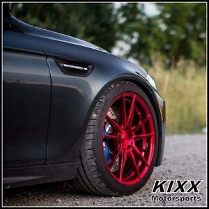 Details About 20 Rohana Rf2 20x9 10 Red Concave Wheels For Bmw E92 E93 328i 335i Coupe