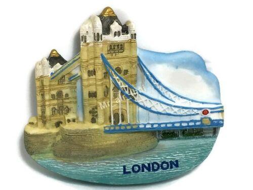Londres SOUVENIR Résine 3D Aimant De Réfrigérateur Souvenir TOURIST Cadeau 020 Tower Bridge