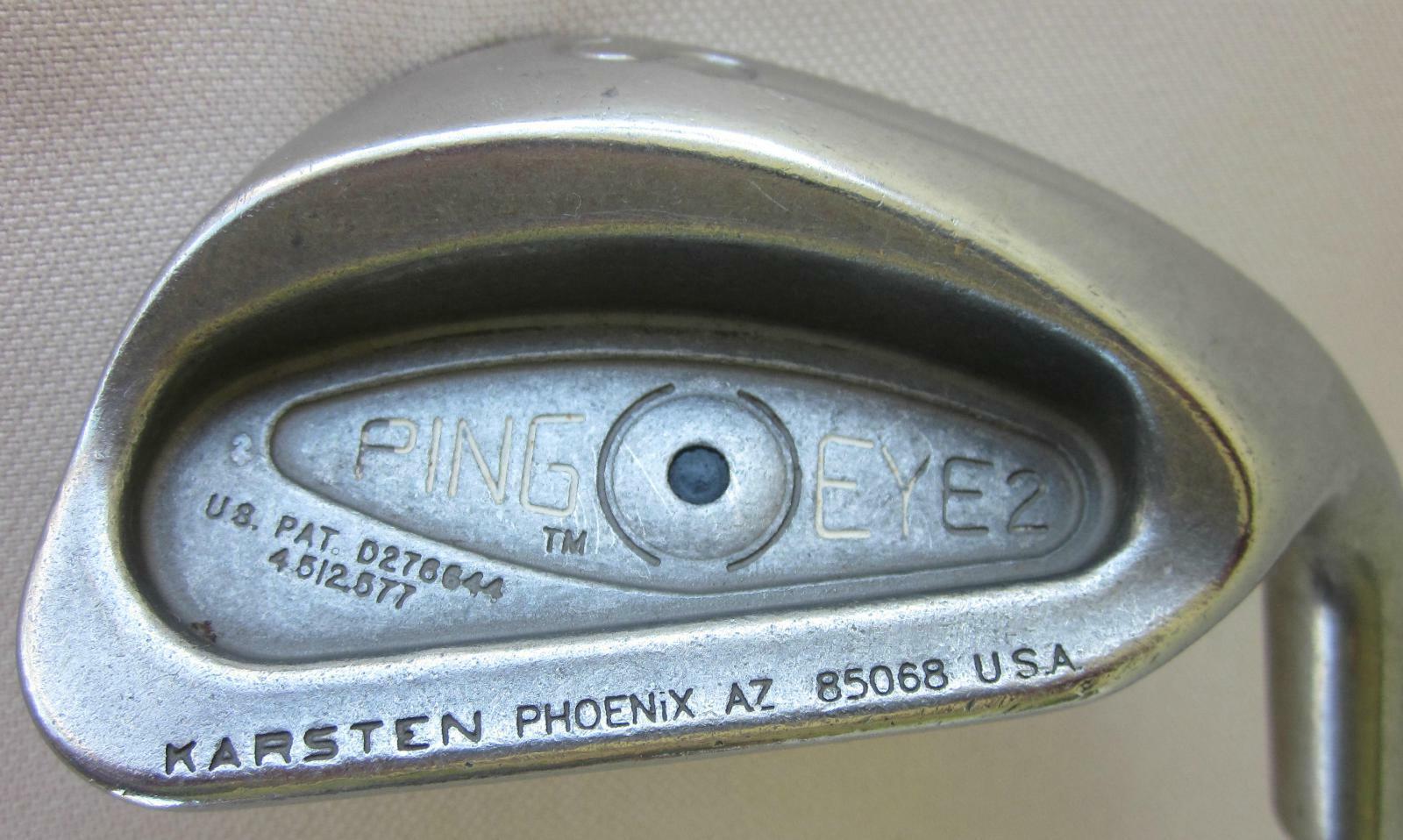 Ping Eye 2 Single Tejido Cuña de  arena Punto Negro Acero Eje Mano Derecha  comprar descuentos