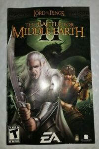 Lord-of-the-Rings-Battle-for-Middle-Earth-II-PC-Manual-w-Install-Key-Only