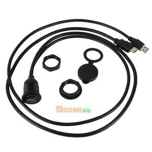 Dashboard-Panel-Flush-Mount-USB-3-0-HDMI-Extension-Cable-for-Car-Boat-Motorcycle