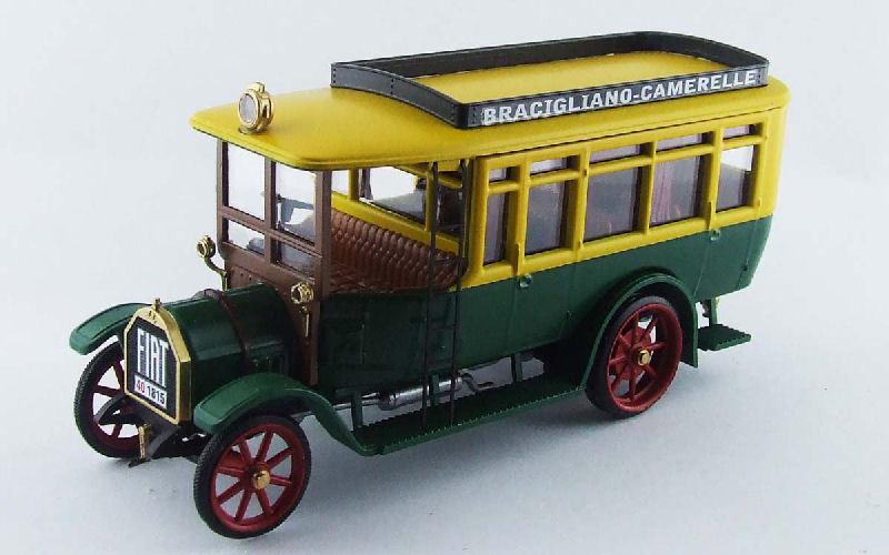 Fiat 18BL Autobus Bracigliano-Camarelle 1916 1 43 Model RIO4433 RIO