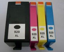 4er Set Nein 920XL Inkjet Patronen Nicht-OEM Mit Drucker HP Officejet 6500