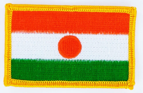 PATCH ECUSSON BRODE DRAPEAU NIGER  INSIGNE THERMOCOLLANT NEUF FLAG PATCHE