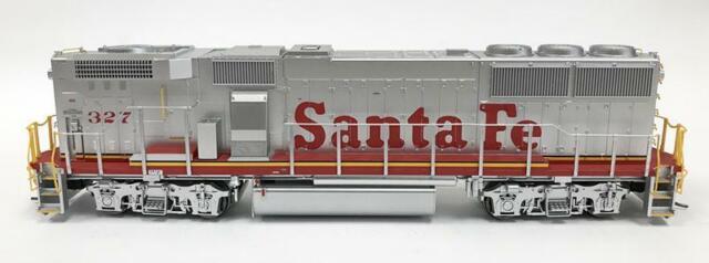 Fox Valley HO GP60 ATSF Santa Fe #4023 DCC Ready ~ Working Lights /& Beacon ~ NEW