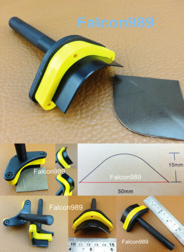4 Kinds Premium Leather Craft V-point Belt Strap Wallet End Punch Tool Set Kit