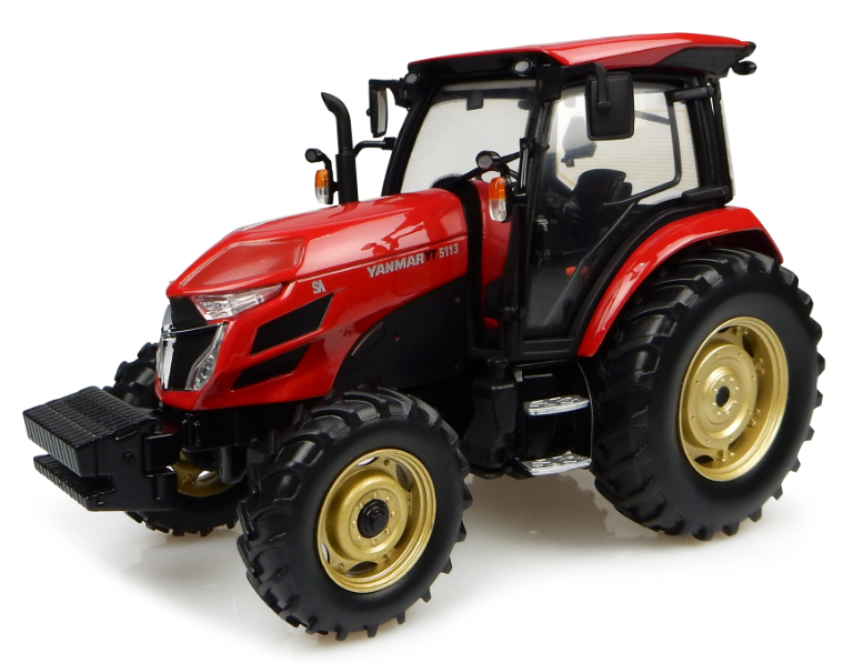 UNIVERSAL HOBBIES échelle 1 32 Yanmar YT5113-Rouge-Modèle tracteur