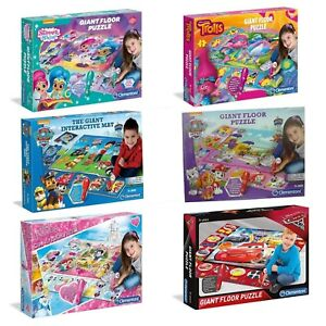 Giant-Floor-Puzzle-Shimmer-amp-Shine-Disney-Princess-Paw-Patrol-Cars-Jigsaw-NEW