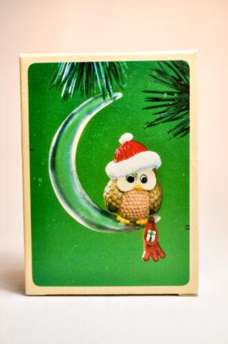 Christmas Owl Hallmark 1984 Keepsake Ornament