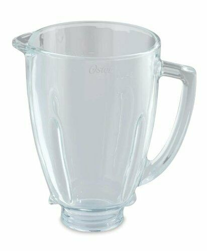 Oster BLSTAJ-G00-050 - Jarra de vidrio redonda 6 tazas 1.5 l para batidora de...