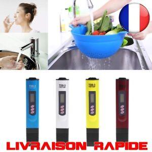 Qualite-Eau-Purete-Testeur-TDS-Temperature-Metre-PPM-Filtre-Hydroponique-Piscine