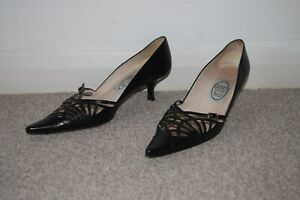 Free Postage Court Hope 36 Size Kitten 3 But Buckle 4 Black Fit Emma A scarpe S6wxnqCOR