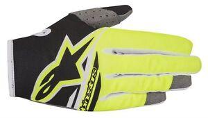 Guanti-Adulto-Alpinestars-Radar-Flight-Gloves-Giallo-Fluo-Nero-Cross-Enduro