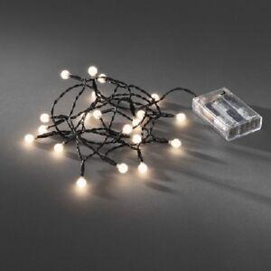 led globe lichterkette 20er batterie timer innen warmwei 1491 107 xmas ebay. Black Bedroom Furniture Sets. Home Design Ideas