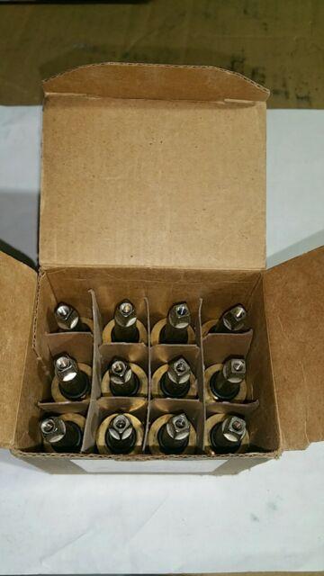 CHICAGO FAUCETS 377-XKLHBL12JKABNF 12-Pack  LH Ceramic Cartridge,Brass//SS