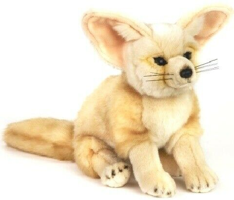 Fennec Fox Soft Plush Toy NEW National Geographic Size: 24cm/ 10 inches  Tall