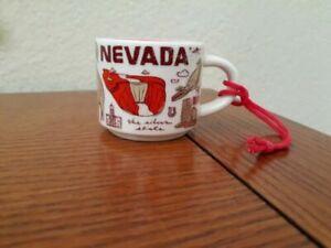 Starbucks-2oz-NEVADA-Demi-Tasse-BEEN-THERE-mug-Ornament-Cup-Mini-Mug-NIB