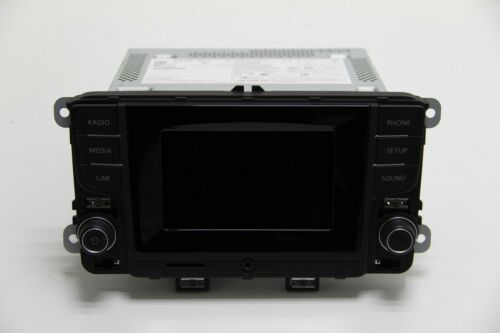 Originales de VW Polo 6c radio composition Touch 6c0035888a Bluetooth touch screen