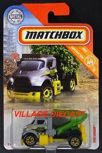 2018-Matchbox-35-Tree-Lugger-GREY-GREEN-JIM-039-S-TREE-REMOVAL-MOC