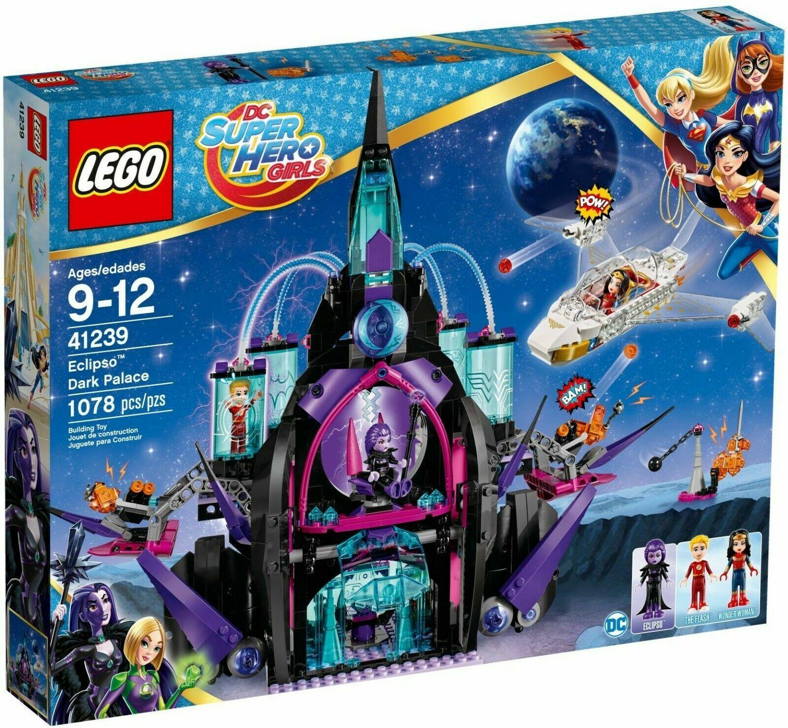 alto sconto LEGO 41239 DC SUPER HEROES HEROES HEROES GIRLS IL PALAZZO OSCURO  ECLIPSO GIU 2017  all'ingrosso economico e di alta qualità