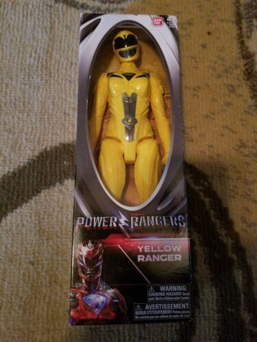 environ 30.48 cm jaune RANGER Action Figure Power Rangers Film 2017 12 in