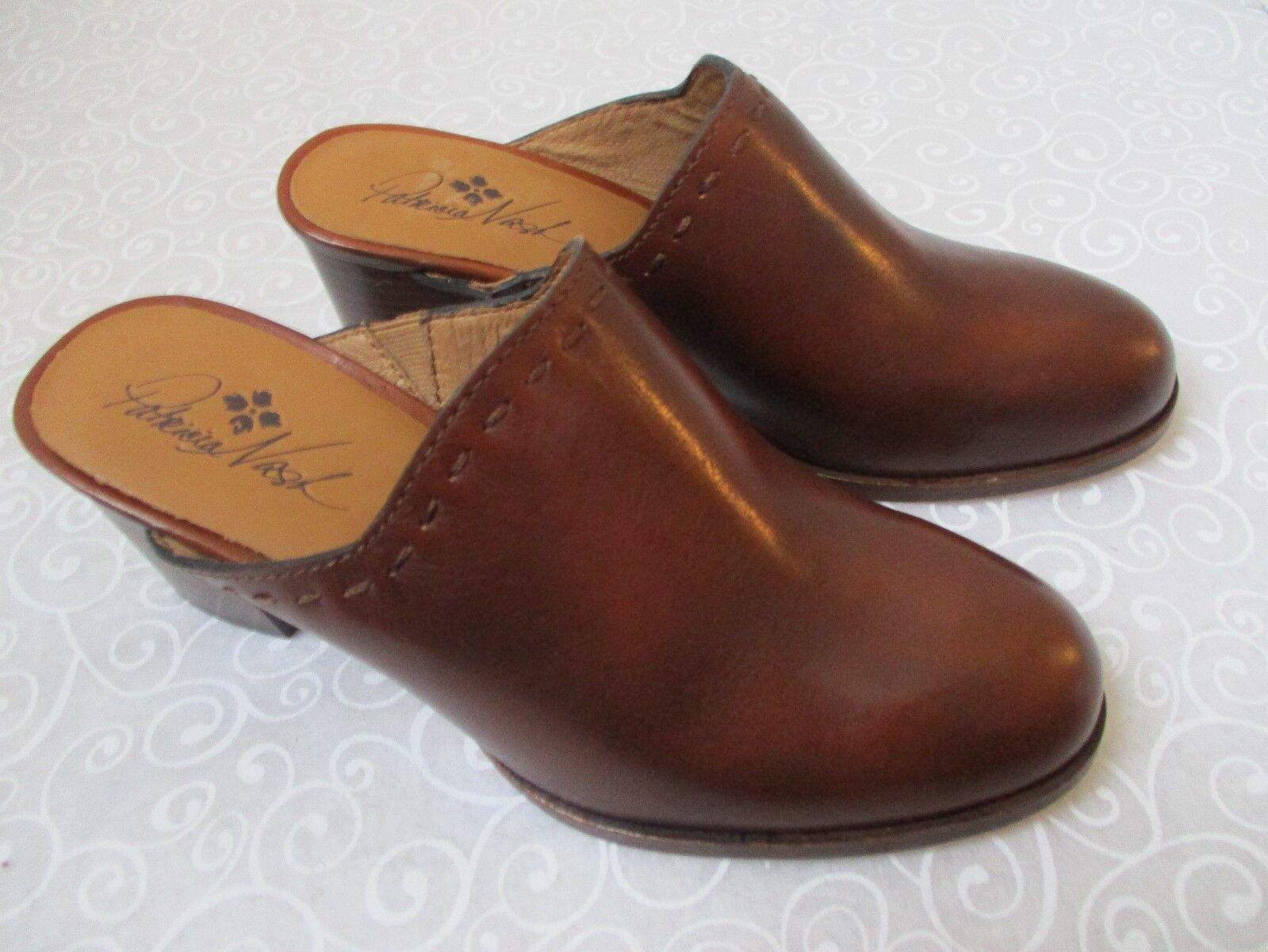 Patricia NASN Nicia Whisky Marrón Cuero Zapatos Talla 8 1 1 1 2 M-Nuevo  el mas de moda