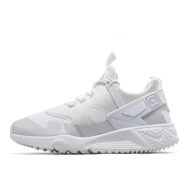 NEW Nike Air Huarache Utility Hommes - Running Sports Chaussures Trainers - Hommes blanc  & Cream c8fdf0
