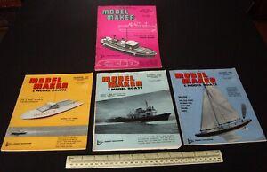 1964-Vintage-Model-Maker-Magazine-x-4-Ships-Cars-Yachts-Adverts-Engineering-15