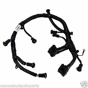 s l300 oem new 05 07 ford 6 0l powerstroke diesel fuel injector jumper 6.0 powerstroke ficm wiring harness at beritabola.co
