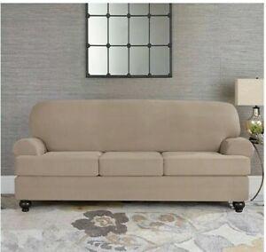 Surefit Designer Suede Sofa Slipcover