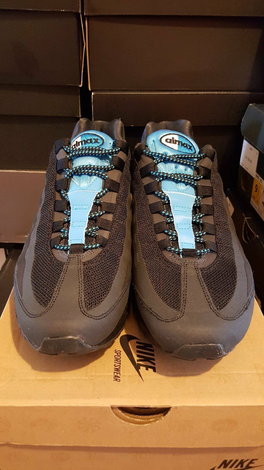 Nike Air Max 95    No-Sew  running schuhe d051ee