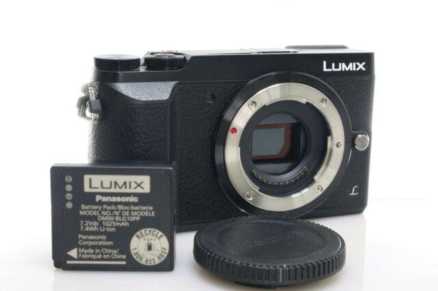 [EXC] Panasonic Lumix DMC-GX85 Mirrorless Micro 4/3 Digital Camera (Body Only)