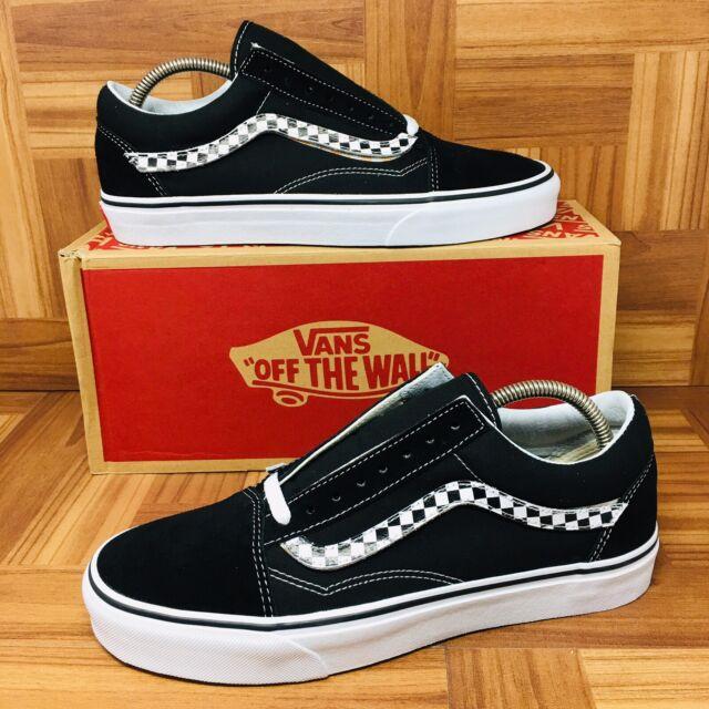6b920fcbf5  NEW  Vans Authentic Old Skool SideStripe (Men Size 11.5) Skate Shoes Black
