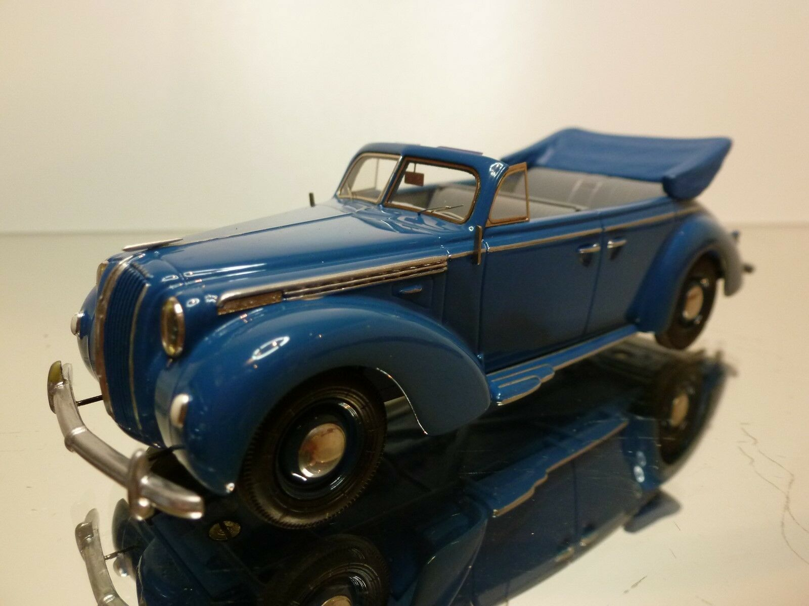 HOMBURG MODELL - OPEL ADMIRAL 1938 CABRIOLET -  1 43 - EXCELLENT CONDITION - 18