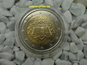 *** 2 Euro Pièce Commémorative Portugal 2007 50 Ans Traités De Rome Pièce Coin ***-afficher Le Titre D'origine