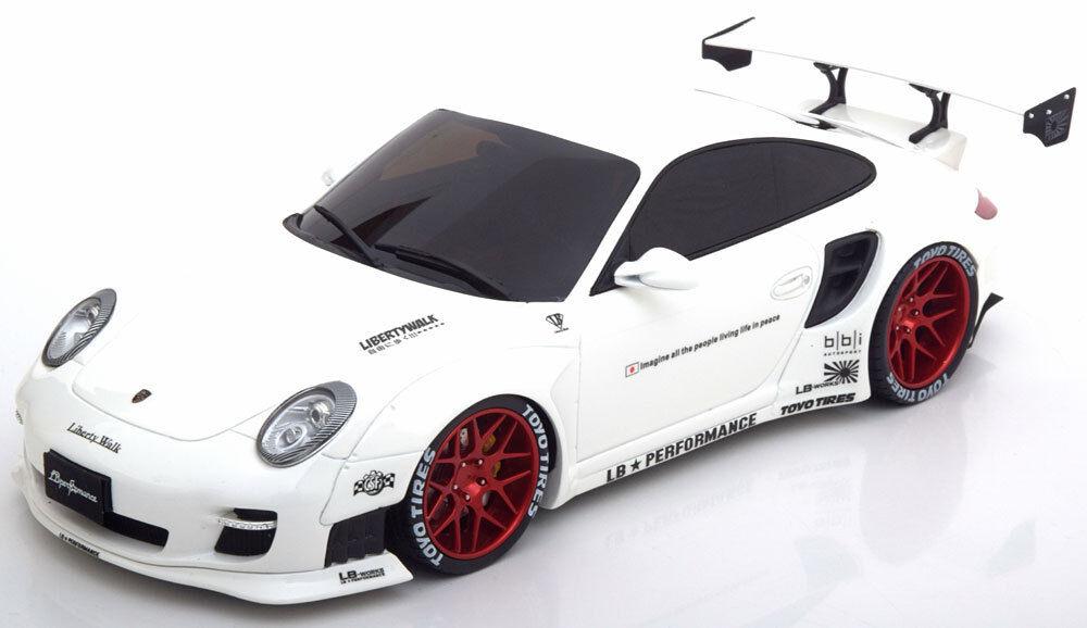 GT Spirit 2010 Porsche 911 (997) LB Performance White LE of 600 1 18 Scale New
