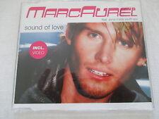 Marc Aurel, Anna Maria Kaufmann: Sound of Love - Maxi-Single CD 6 Tracks + Video