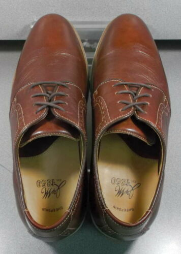 271744 PF38 Men/'s Shoes Size 9.5 M Brown Leather 1850 Series Johnston /& Murphy