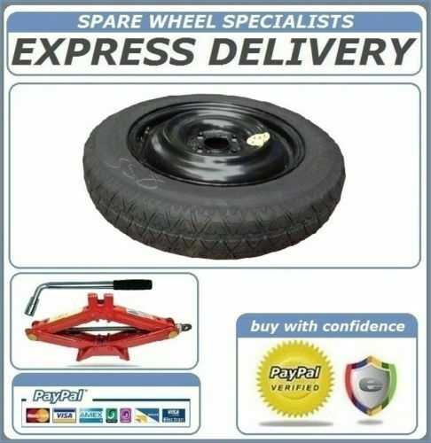 """FORD TOURNEO COURIER 2013-PRESENT DAY 15/"""" SPACE SAVER SPARE WHEEL TOOL KIT"""