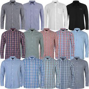 Pierre-Cardin-camisa-de-manga-larga-a-tiempo-libre-camisa-Business-camisa-S-M-L-XXL-2xl
