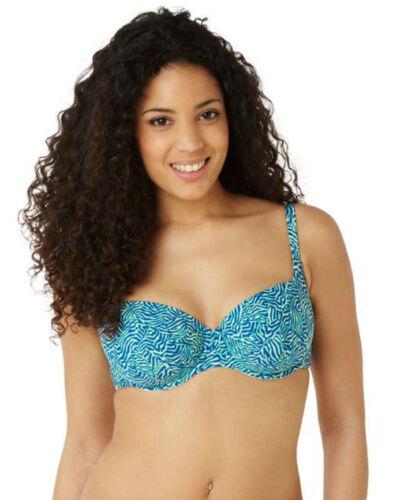 Cleo by Panache Hattie Balcony Bikini Top CW0042 Zebra Print Swimwear SALE