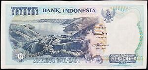 Banknotes Seribu Rupiah 1 000 Idr 1992
