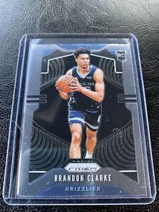 2019-20-Prizm-Brandon-Clarke-RC-266-Grizzlies-Rookie