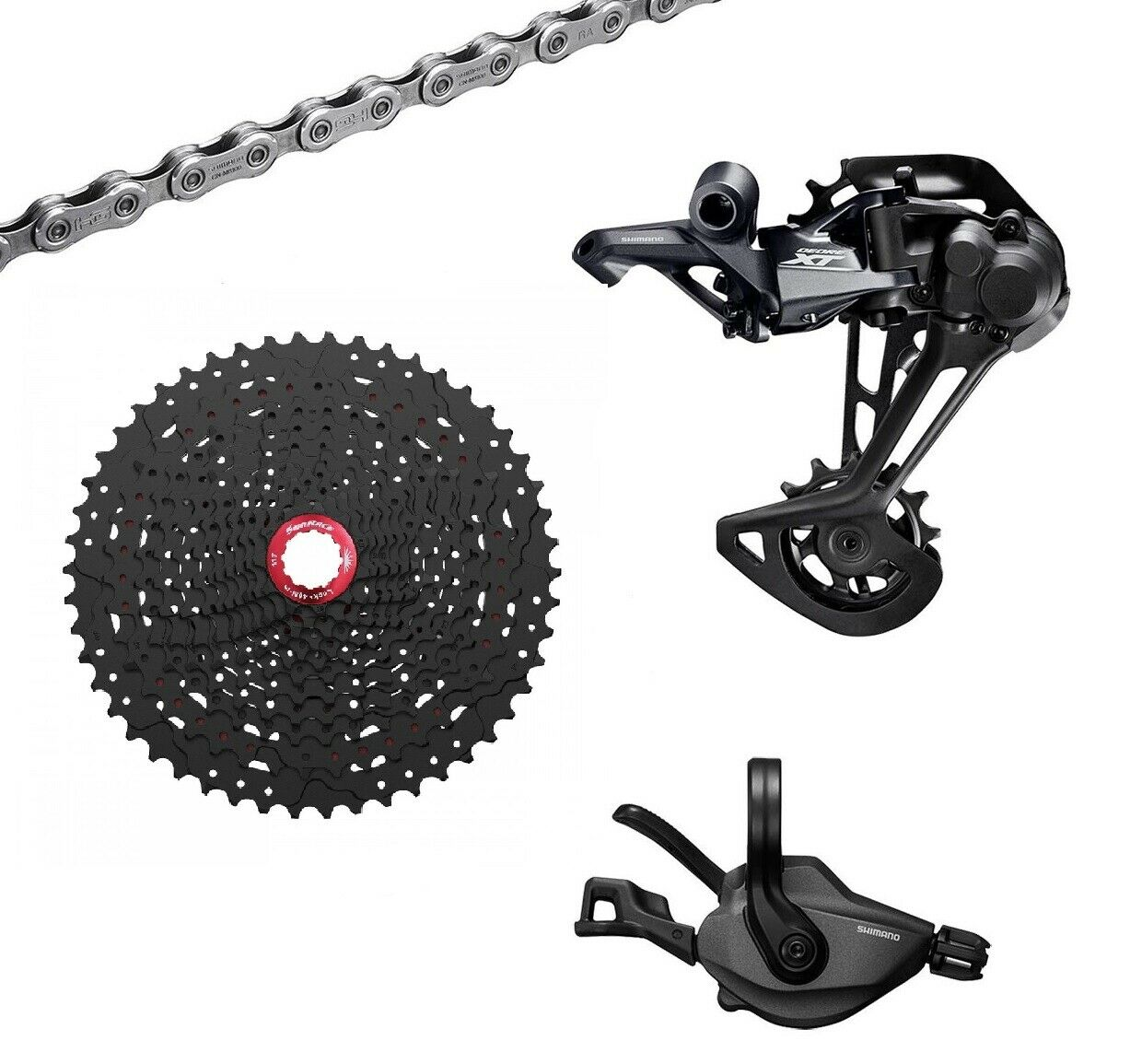 Group Upgrade Kit Shimano XT m8100 12v-Sunrace 2020   fast delivery and free shipping on all orders