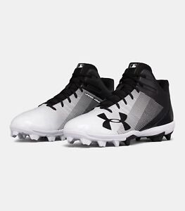 Under Armour Men&#039;s UA 2018 Leadoff Mid RM Adult Baseball/Softb<wbr/>all Molded Cleats