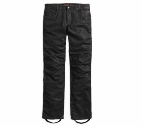 HARLEY-DAVIDSON Waxed denim performance riding jeans