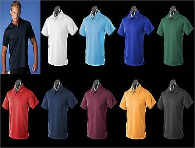 3 Pack - Mens Botany Polo Shirt | 1307 Unisex, Office, Polo, Sport, Corporate