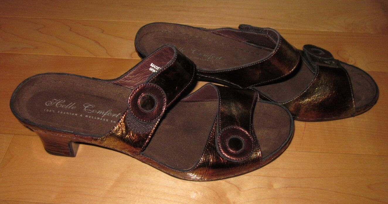 New Helle Comfort Donna Comfort Sandals  US 9.5 Made In Spain